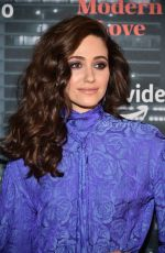 EMMY ROSSUM at Museum of Modern Love Premiere in New York 10/10/2019