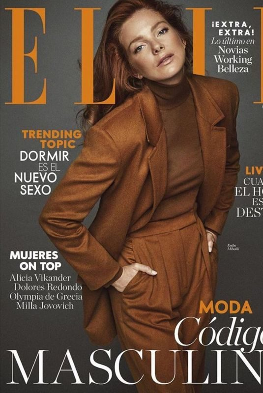ENIKO MIHALIK in Elle Magazine, Spain November 2019