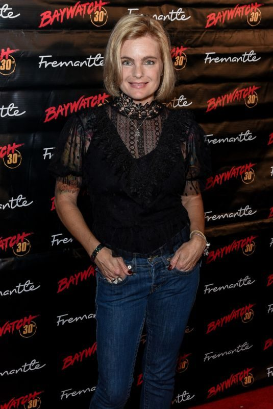 ERIKA ELENIAK at Baywatch 30th Anniversary Celebration in Santa Monica 09/24/2019