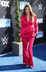 ERIN ANDREWS at WWE Friday Night Smackdown on Fox Premiere in Los Angeles 10/04/2019
