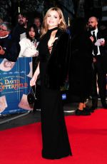 EVA LANSKA at The Personal History of David Copperfield Premiere at 63rd BFI London Film Festival 10/02/2019