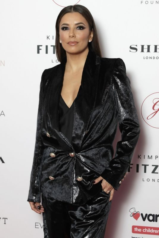 EVA LONGORIA at Global Gift Gala in London 10/17/2019