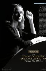 EVAN RACHEL WOOD in People Magazine, October 2019