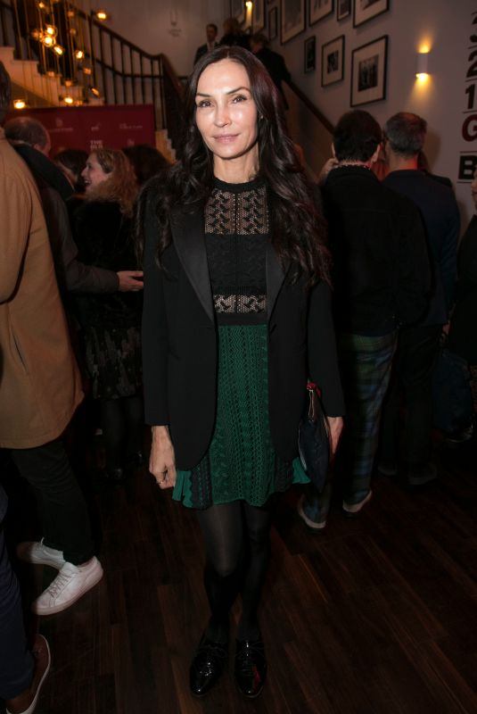 FAMKE JANSSEN at Lungs Play After-party in London 10/19/2019