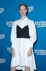 FLEUR GEFFRIER at La Verite Si Je Mens Les Debuts Premiere in Paris 10/15/2019
