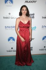 FRANCESCA REALE at Thirst Project 10th Annual Thirst Gala in Beverly Hills 09/28/2019