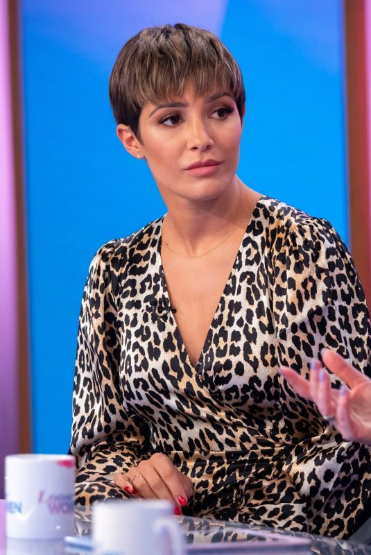 FRANKIE BRIDGE at Loose Women Show in London 10/10/2019