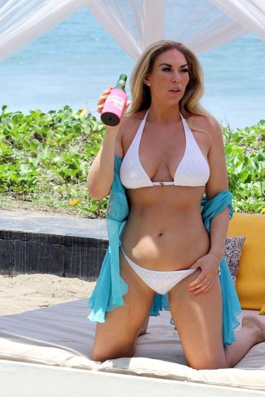 FRANKIE ESSEX in Bikini on Holiday in Bali 10/04/2019