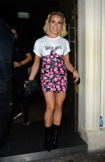 GABBY ALLEN at In the Style, the Power Edit Launch Party in London 10/21/2019