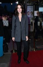 GALA GORDON at A Day in the Death of Joe Egg Play Press Night in London 10/02/2019