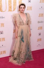 GEMMA-LEAH DEVEREUX at Judy Premiere in London 09/30/2019