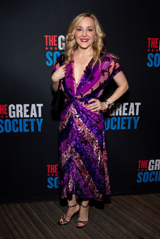 GENEVA CARR at The Great Society Play Opening Night in New York 10/01/2019