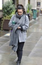GEORGIA MAY FOOTE Out and About in Manchester 10/24/2019