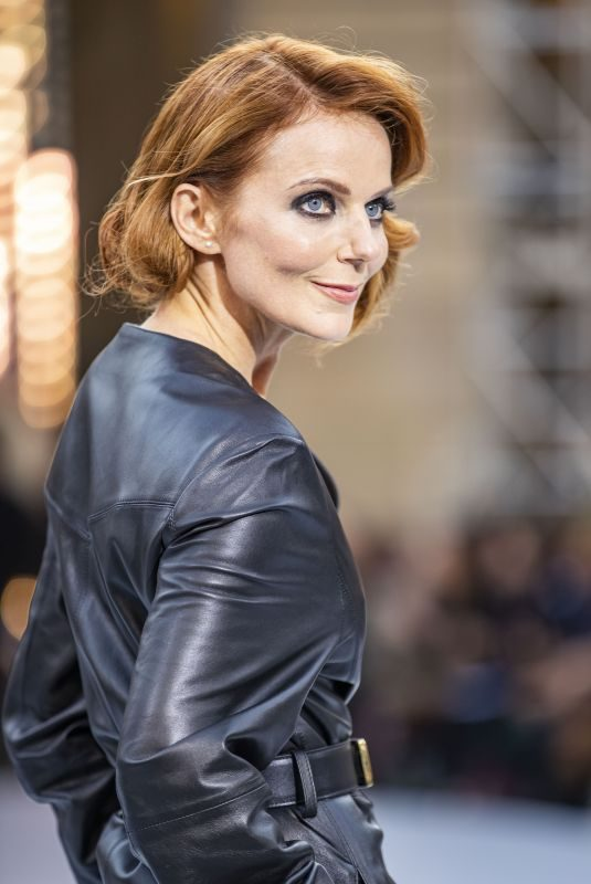 GERI HALLIWELL at Le Defile L'Oreal Paris Show at Paris Fashion Week 09/28/2019