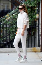 GIGI HADID Out and About in New York 10/08/2019