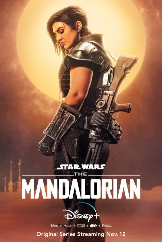 GINA CARANO – The Mandalorian Poster and Trailer