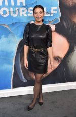 GINGER GONZAGA at Living with Yourself Premiere at Arclight Cinemas in Los Angeles 10/16/2019