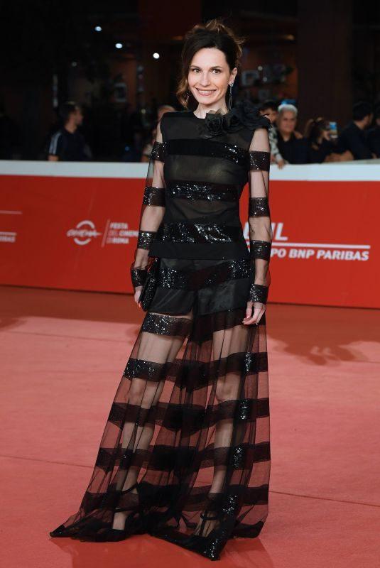 GIRGIA FERRERO at Judy Premiere at 2019 Rome Film Festival 10/22/2019