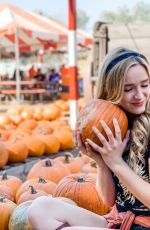 GREER GRAMMER at a Pumpkin Patch - Instagram Photos 10/20/2019