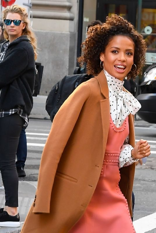 GUGU MBATHA-RAW Arrives at Build Studios in New York 10/21/2019