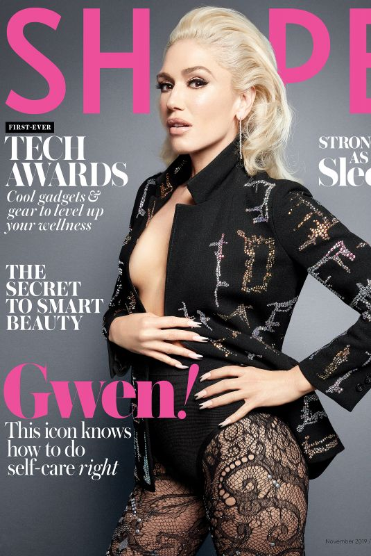 GWEN STEFANI in Shape Magazine, November 2019