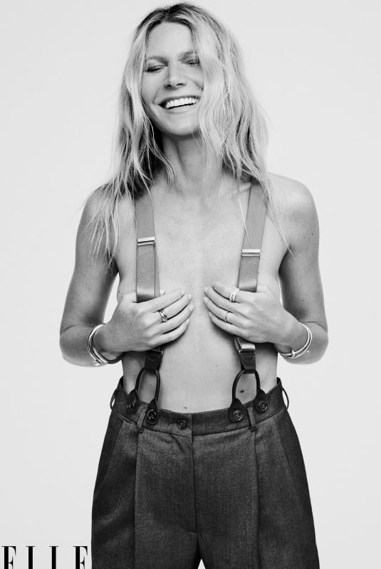 GWYNETH PALTROW in Elle Magazine, November 2019