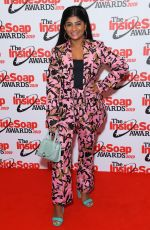 HAIESHA MISTRY at Inside Soap Awards 2019 in London 10/07/2019