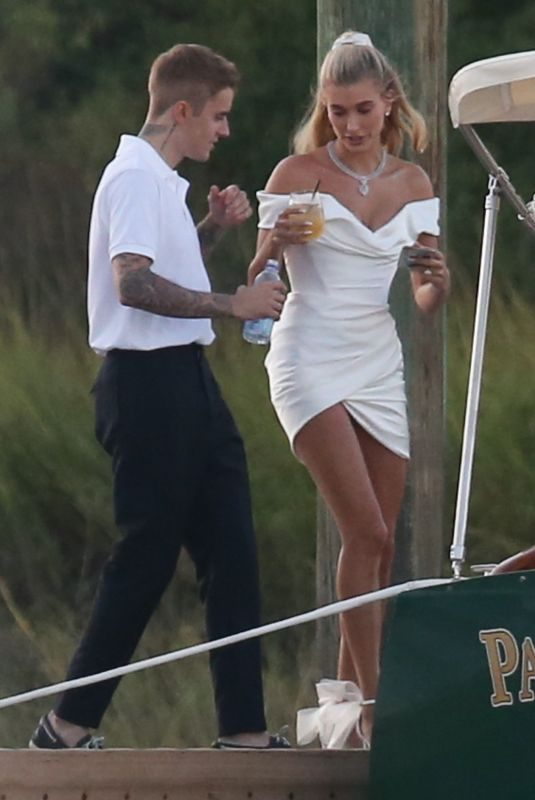 HAILEY and Justin BIEBER at Her Wedding Rehesal Diiner at Montage Palmetto Bluffs 09/29/2019