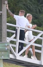 HAILEY and Justin BIEBER at Her Wedding Rehesal Diiner at Montage Palmetto Bluffs 09/29/2019