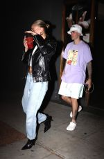 HAILEY and Justin BIEBER Leaves Voda Spa in West Hollywood 10/02/2019