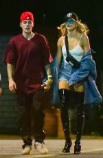HAILEY and Justin BIEBER Night Out in Beverly Hills 10/19/2019