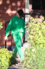 HAILEY BIEBER Arrives at a Recording Studio in Los Angeles 10/08/2019