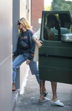 HAILEY BIEBER Out and About in Beverly Hills 10/14/2019
