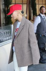 HAILEY BIEBER Out and About in West Hollywood 10/09/2019