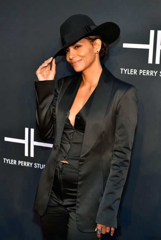 HALLE BERRY at Tyler Perry Studios Grand Opening in Atlanta 10/05/2019