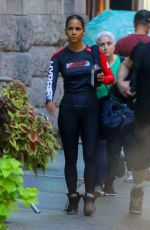HALLE BERRY Leaves a Gym in New York 10/08/2019