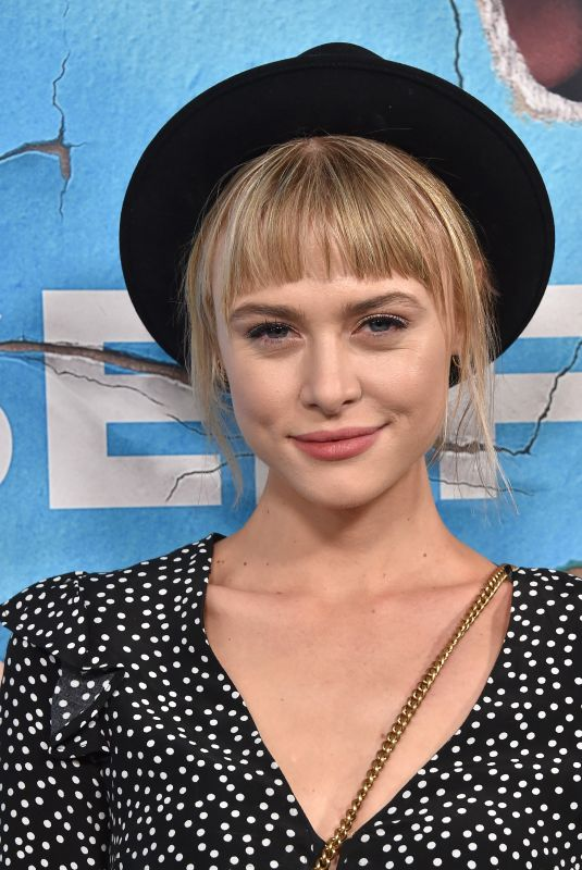 HAYLEY ERIN at Living with Yourself Premiere at Arclight Cinemas in Los Angeles 10/16/2019