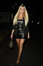 HAYLEY HUGHES Night Out in Manchester 10/26/2019