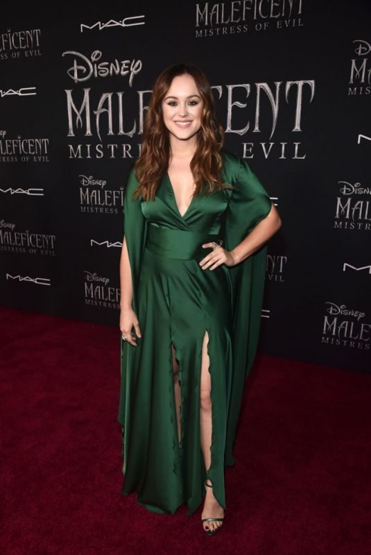 HAYLEY ORRANTIA at Maleficent: Mistress of Evil Premiere in Los Angeles 09/30/2019