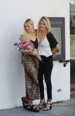 HEATHER LOCKLEAR and AVA SAMBORA Celebrates Ava