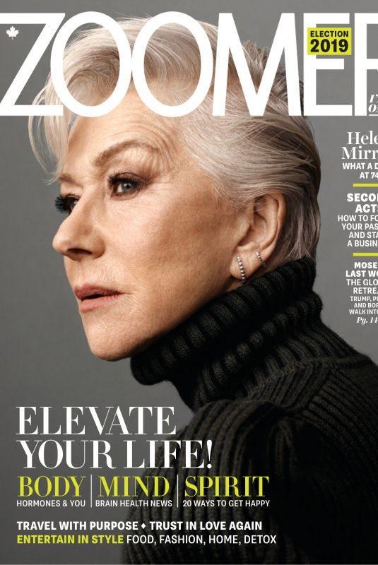 HEKEN MIRREN in Zoomer Magazine, November/December 2019