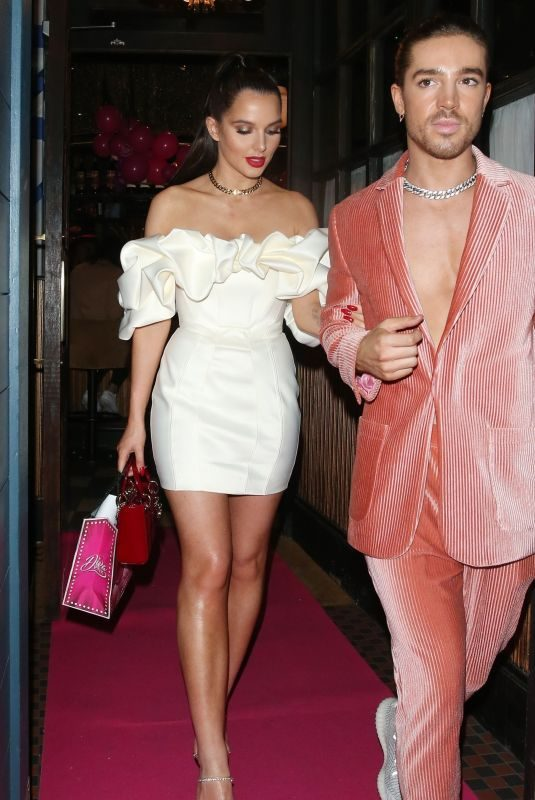HELEN FLANAGAN at Gemma Collins' Diva Pink New Fragrance Launch in London 10/21/2019