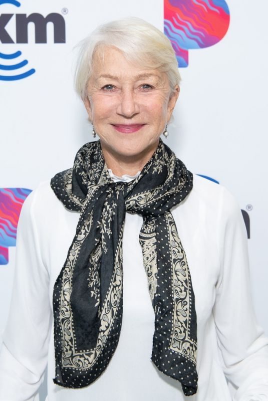 HELEN MIRREN at SiriusXM Hollywood Studios in Los Angeles 10/16/2019