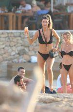 HELEN WOOD in Bikini at a Beach in Ibiza 10/01/2019
