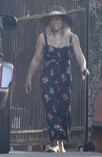 HILARY DUFF Out for a Late Lunch in Studio City 10/21/2019