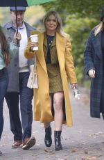 HILARY DUFF Out for Coffee in New York 10/29/2019