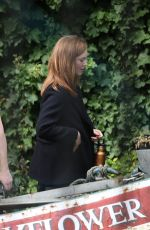 HOLLIDAY GRAINGER on teh Set of Strike in London 09/25/2019