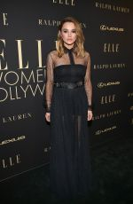 HUNTER HALEY KING at Elle Women in Hollywood Celebration in Los Angeles 10/14/2019