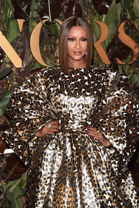 IMAN at 4th Annual WWD Honors in New York 10/29/2019