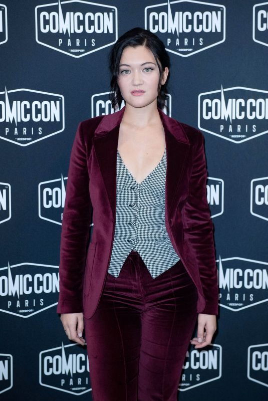 ISA BRIONES at Comic Con 2019 in Paris 10/27/2019
